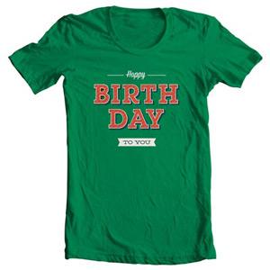 خرید تی شرت تولد