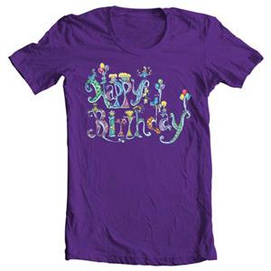 تی شرت روز تولد