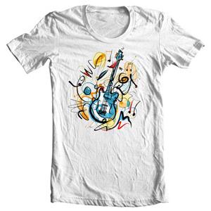 تی شرت موزیک