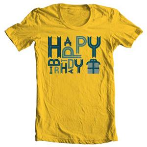 تی شرت تولد