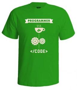 تی شرت برنامه نویسی طرح programmer