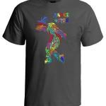 خرید تی شرت دنس طرح power of dance