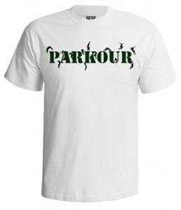 تی شرت پارکور طرح parkour free running