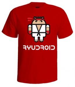 تی شرت اندروید طرح think droyd