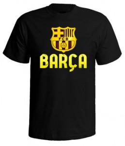 تی شرت بارسلونا طرح fcb