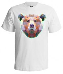 تی شرت سه بعدی طرح ۳d bear