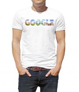 تی شرت گوگل طرح google rugby