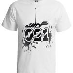 تی شرت تهران ۰۲۱ طرح برج میلاد
