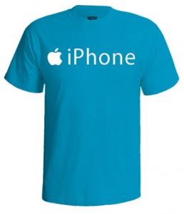 تی شرت اپل طرح iphone