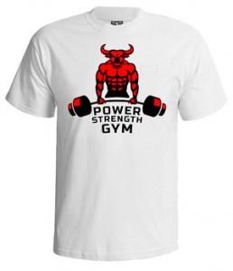 تی شرت بدنسازی power strength