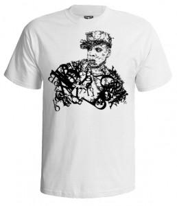 تی شرت رپری طرح تایپوگرافی