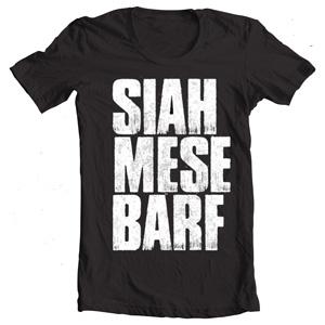 تی شرت گروه زدبازی siah barf