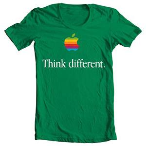 تی شرت طرح اپل