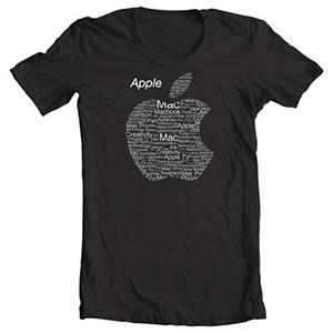 تی شرت اپل