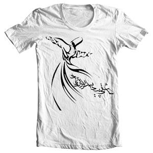 تی شرت آریانی طرح calligraphy