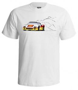 تی شرت فراری طرح ferrari f40