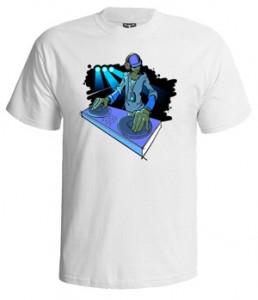 تی شرت دنس طرح dj