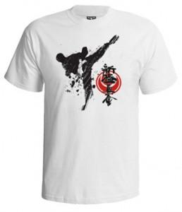 تی شرت کیوکوشین طرح kyokushin