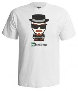 تی شرت بریکینگ بد طرح heisenberg character