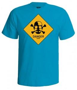 تی شرت بریکینگ بد طرح danger toxic