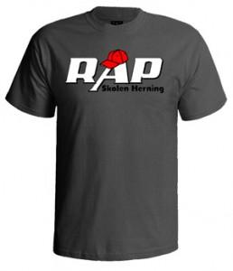 تی شرت رپری طرح rap logo