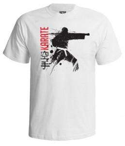 تی شرت کیوکوشین طرح get your karate