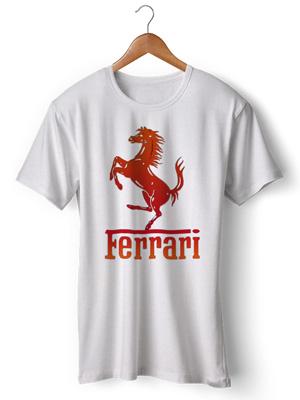 خرید تی شرت ferrari
