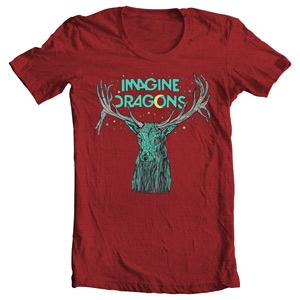 تی شرت ایمجین دراگونز طرح elk