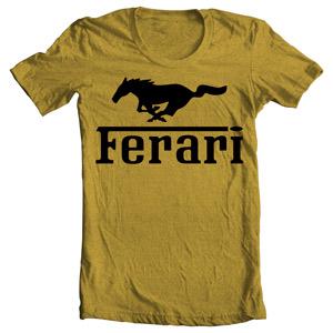 تی شرت فراری