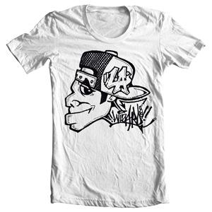 تی شرت گرافیتی طرح l.a