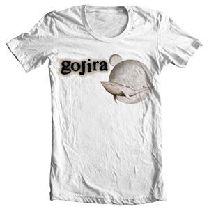 تی شرت گوجیرا طرح from mars