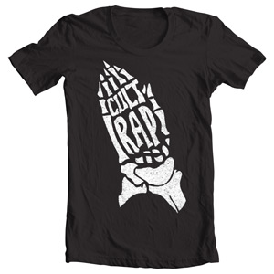 تی شرت رپری طرح cult rap