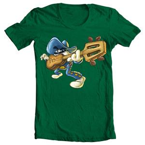 تی شرت گیتار mexican guitarist