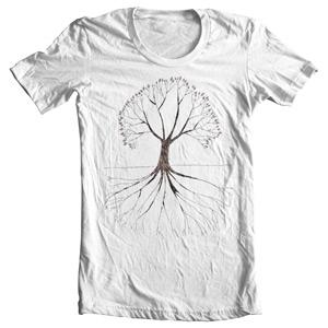 تی شرت گوجیرا طرح tree