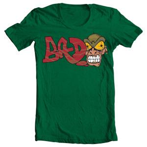 تی شرت گرافیتی crazy man