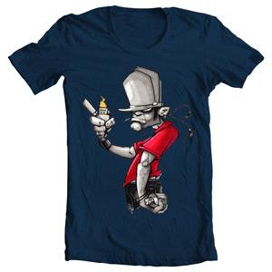فروش تی شرت گرافیتی
