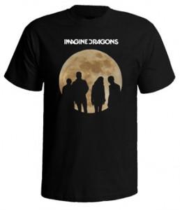 تی شرت ایمجین دراگونز طرح moon