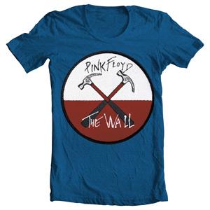 تی شرت طرح پینک فلوید wall