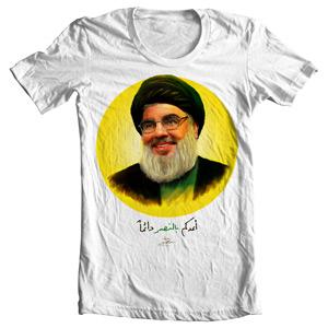 تی شرت سید حسن نصرالله