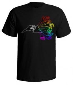 تی شرت پینک فلوید طرح sticker