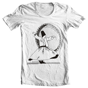 تی شرت موسیقی با طرح دف