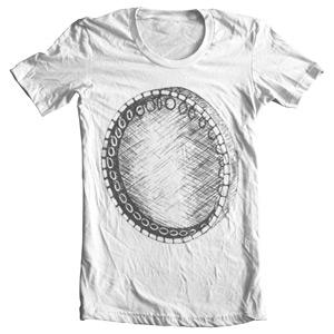 تی شرت موسیقی ایرانی طرح دف