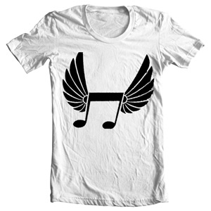 تی شرت پاپ طرح music note