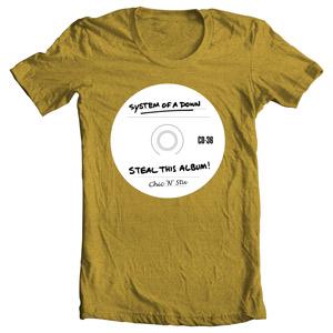 تی شرت سیستم اف دون
