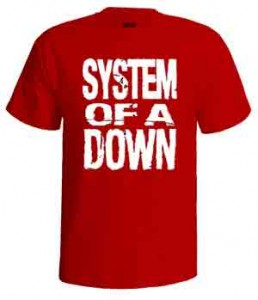 تی شرت سیستم او ا داون logo