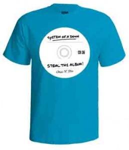 تی شرت سیستم اف داون steal this