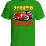 تی شرت فراری طرح ferrari GTO250