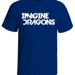 تی شرت imagine dragons طرح white