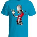تی شرت گرافیتی طرح simper boy