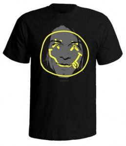 تی شرت nirvana طرح spirit